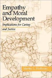 Cover of: Empathy and Moral Development | Martin L. Hoffman