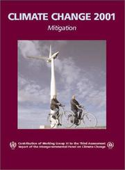 Cover of: Climate Change 2001: Mitigation |