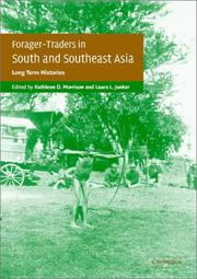 Cover of: Forager-traders in south and southeast Asia |