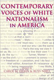 Cover of: Contemporary Voices of White Nationalism in America |