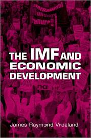 Cover of: The IMF and Economic Development
