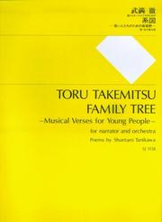 Cover of: Family Tree - Musical Verses for Young People