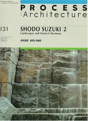 Cover of: Shodo Suzuki | Books Nippan