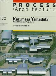 Cover of: Kazumasa Yamashita, recent works and projects, 2 =