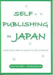 Cover of: Self-Publishing in Japan | Kathleen Morikawa