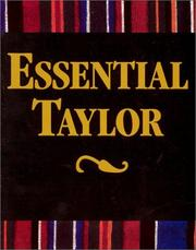 Cover of: Essential Taylor | Gardner C. Taylor