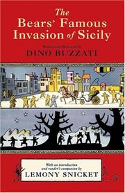 Cover of: Famosa invasione degli orsi in Sicilia