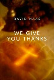 Cover of: We Give You Thanks