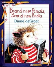 Cover of: Brand-new pencils, brand-new books