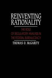 Cover of: Reinventing Rationality | Thomas O. McGarity