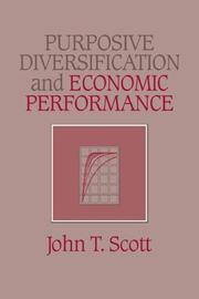 Cover of: Purposive Diversification and Economic Performance