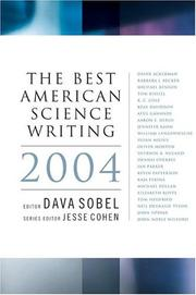 Cover of: The Best American Science Writing 2004 (Best American Science Writing)