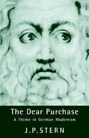 Cover of: The Dear Purchase | J. P. Stern