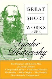 Cover of: Great Short Works of Fyodor Dostoevsky