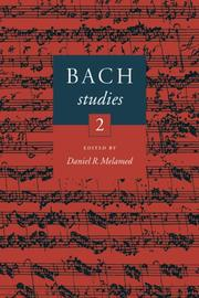 Cover of: Bach Studies 2
