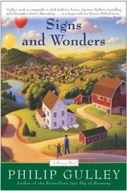 Cover of: Signs and Wonders (Gulley, Philip)