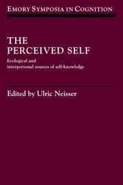 Cover of: The Perceived Self | Ulric Neisser