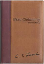 Cover of: Mere Christianity Journal |