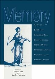 Memory (Darwin College Lectures)