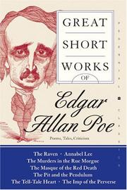Cover of: Great Short Works of Edgar Allan Poe: Poems Tales Criticism (Perennial Classics)