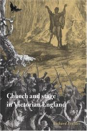 Cover of: Church and Stage in Victorian England