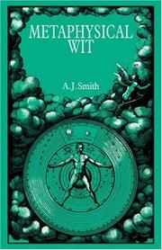 Cover of: Metaphysical Wit | A. J. Smith