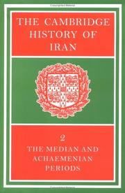 Cover of: The Cambridge History of Iran | I. Gershevitch