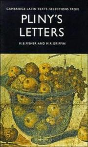Cover of: Selections from Pliny's Letters