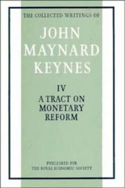 Cover of: The Collected Writings of John Maynard Keynes