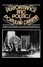 Cover of: Performance and Politics in Popular Drama |