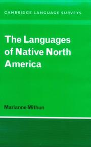 Cover of: The Languages of Native North America (Cambridge Language Surveys) | Marianne Mithun