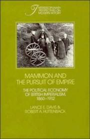 Cover of: Mammon and the pursuit of empire