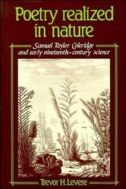 Cover of: Poetry realized in nature | Trevor Harvey Levere