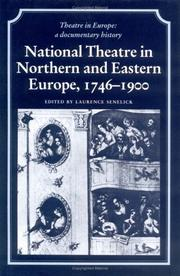Cover of: National theatre in northern and eastern Europe, 1746-1900