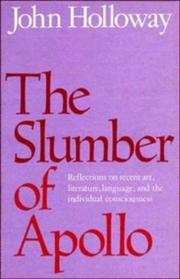 Cover of: The Slumber of Apollo