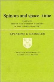 Cover of: Spinors and space-time