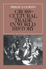 Cover of: Cross-cultural trade in world history