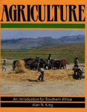 Cover of: Agriculture, an introduction for southern Africa