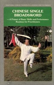 Cover of: Chinese Single Broadsword