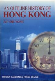 Cover of: An Outline History of Hong Kong |