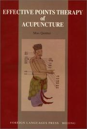 Cover of: Effective Points Therapy of Acupuncture