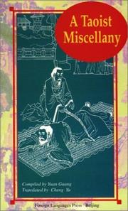 Cover of: A Taoist Miscellany