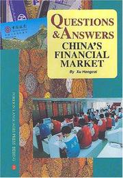 Cover of: Questions & Answers--China's Financial Market