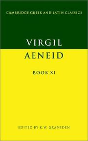 Cover of: Aeneid, book XI