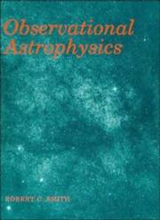 Cover of: Observational astrophysics | Smith, Robert C.