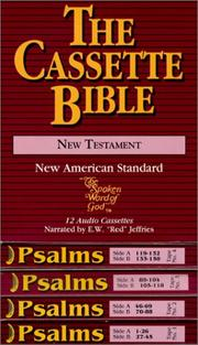 Cover of: New Testament with Psalms | E. W. Jeffries
