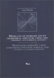 Cover of: Modelling of Georelief & Its Geometrical Structure Using Dtm