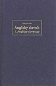 Cover of: English-Slovak Dictionary