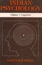 Cover of: Indian Psychology (3 Vols.)