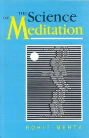 Cover of: The science of meditation